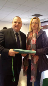 Submitting SLT petition to Cllr Darren Cooper
