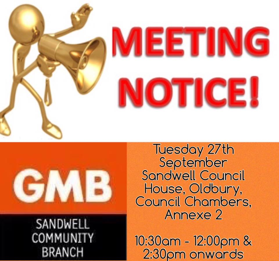 GMB Branch meeting