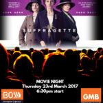 BOSS Movie Night 2017 - Suffragette