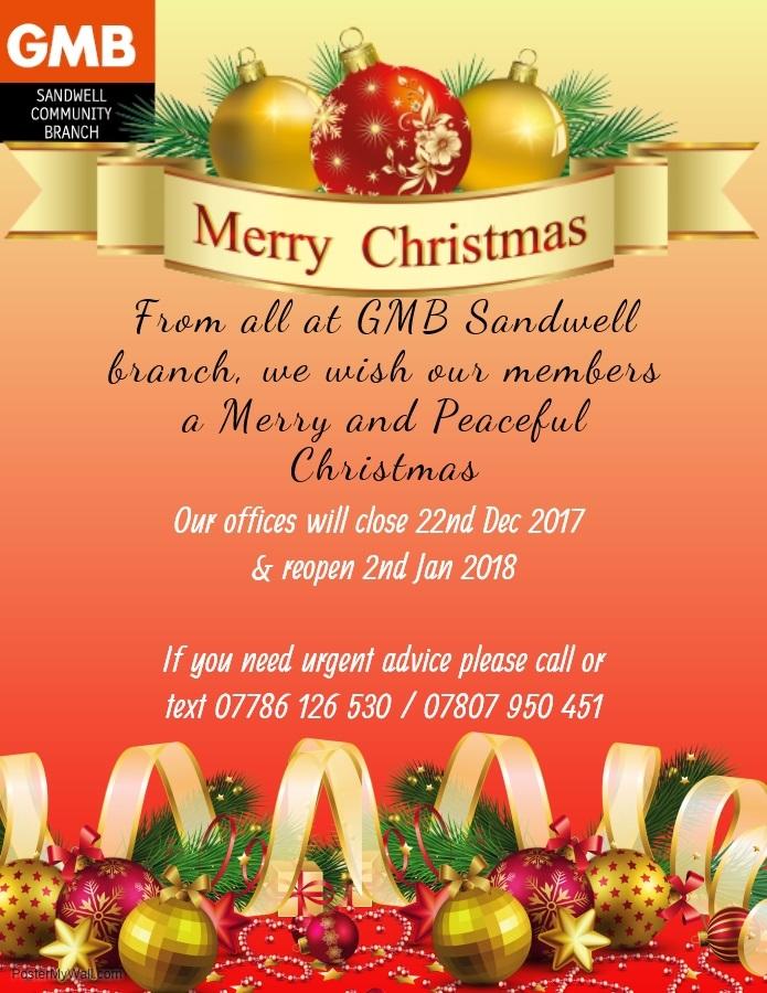 gmb christmas 2017