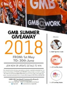 GMB SUMMER GIVEAWAY