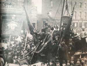 London Dock Workers strike 1889, birth of the Union