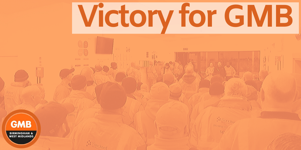 Vistory for GMB workers