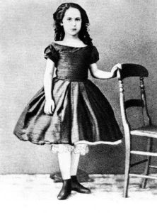 Eleanor as a young girl