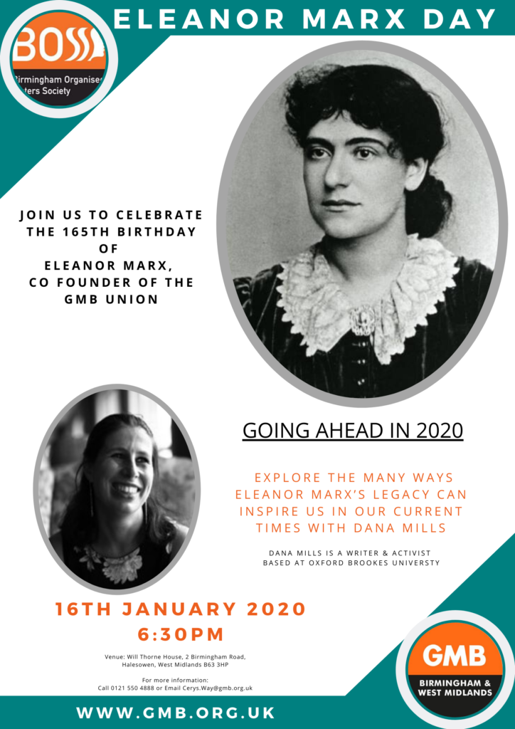 eleanor Marx day 2020